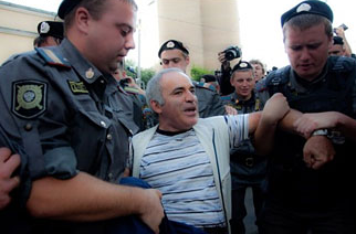 Gary Kasparov Arrested
