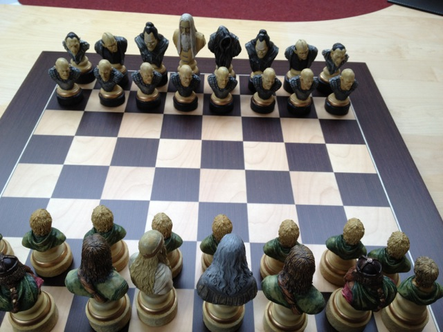 Lord Of The Rings Chess Set Review Regency Chess