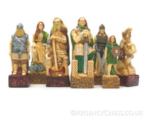 Celts Vs Vikings Chess Set