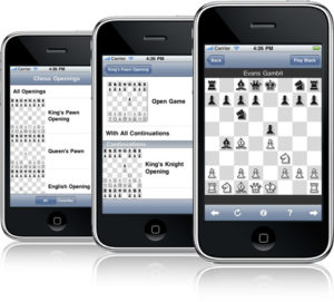 Chess on your iPhone (image courtesy of Arizona-Software
