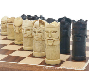 Historic Masked Chess Set
