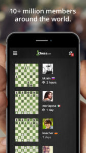 Chess on your iPhone