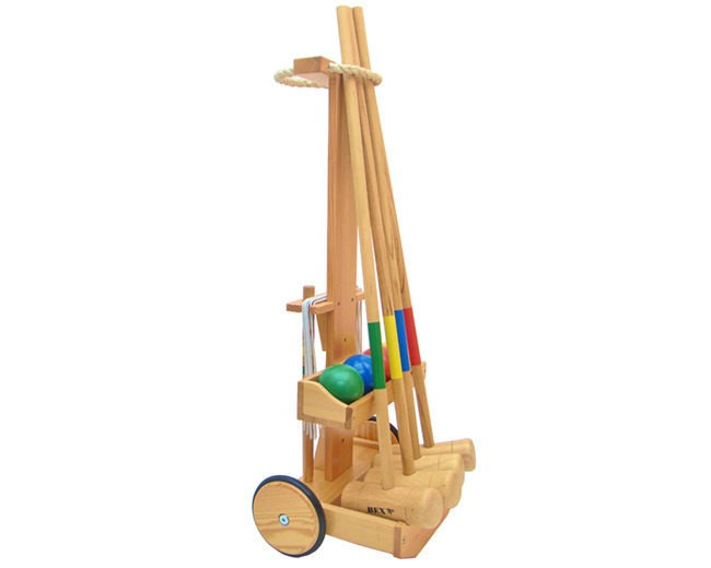 BEX Classic Croquet Set with Trolley