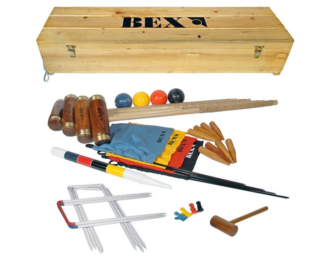 BEX Britannia Luxury Croquet Set