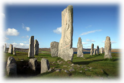 Callanis Stones on the Isle of Lewis