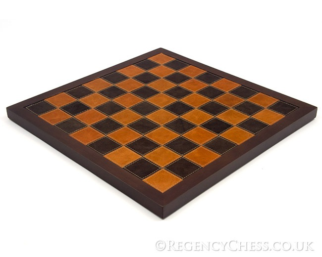 14 Inch Leather Italian Chess Board