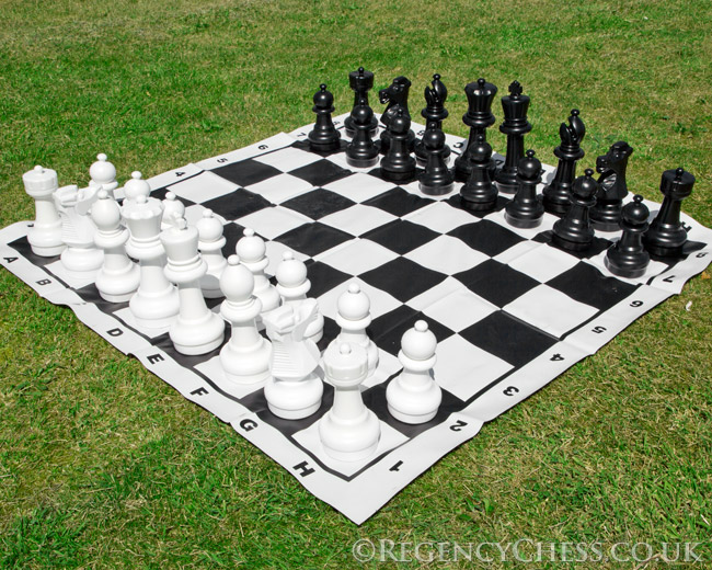 Large Garden Chess Set