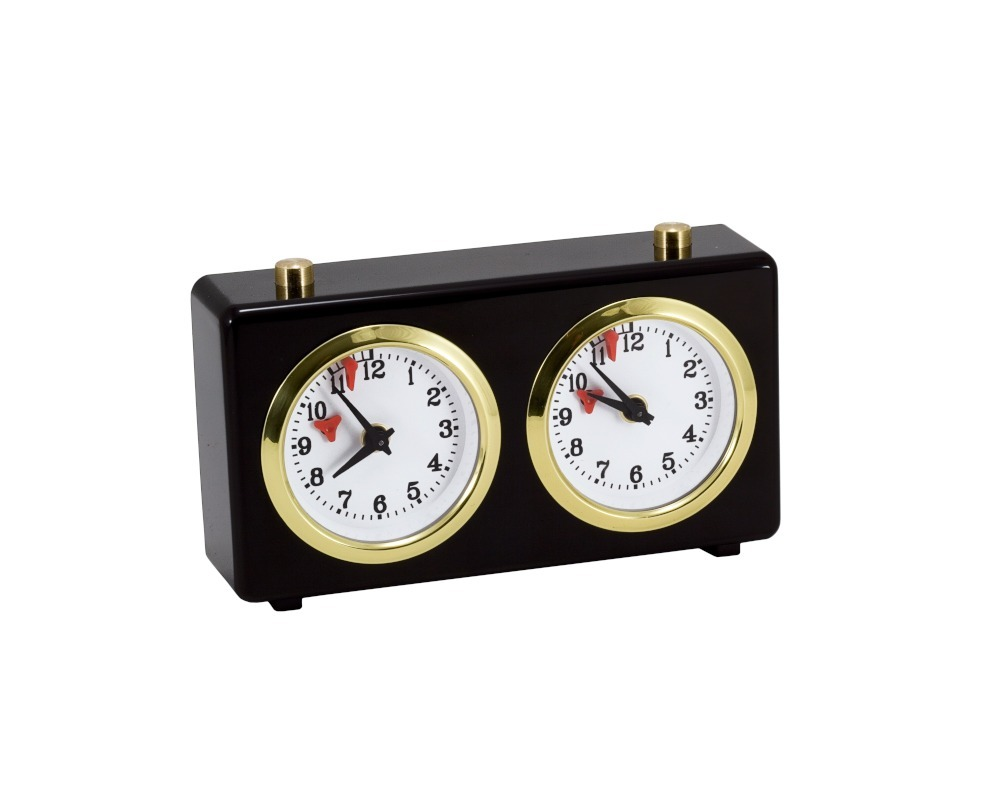 Regency Analogue Chess Clock in Black