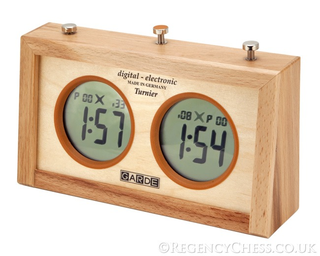 Garde Professional Digital Championship Chess Clock