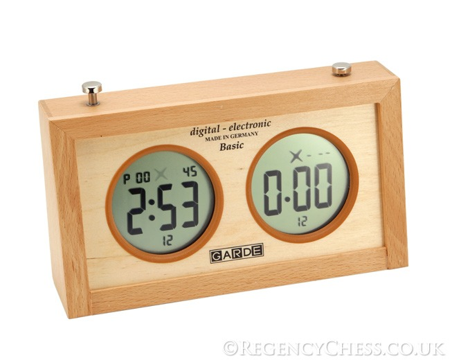 Garde Digital Championship Chess Clock