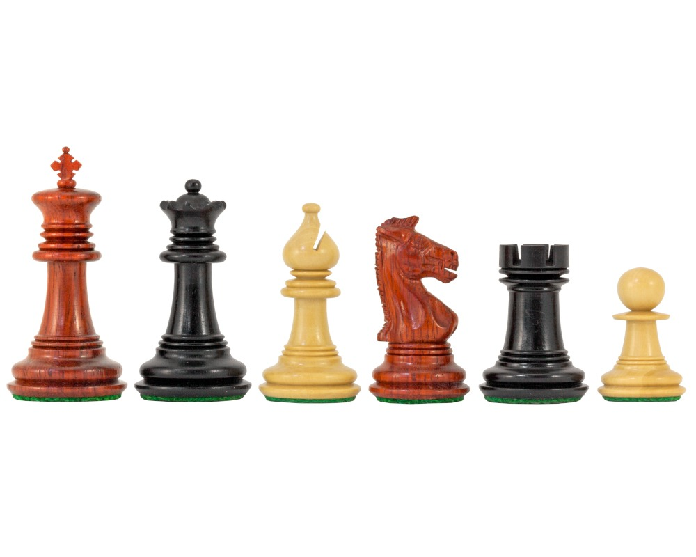 Madrid Tres Corone Luxury Chess Pieces 2.5 Inches