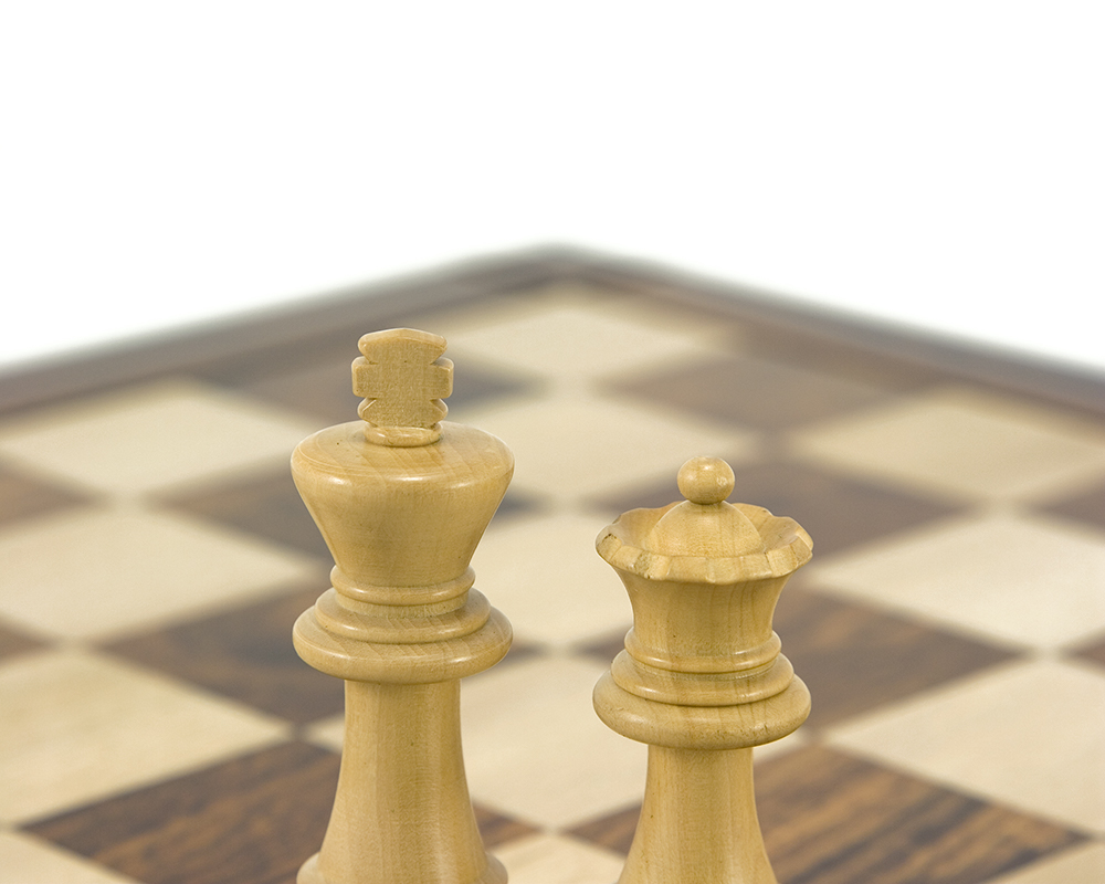 Down Head Black Championship Chess Set