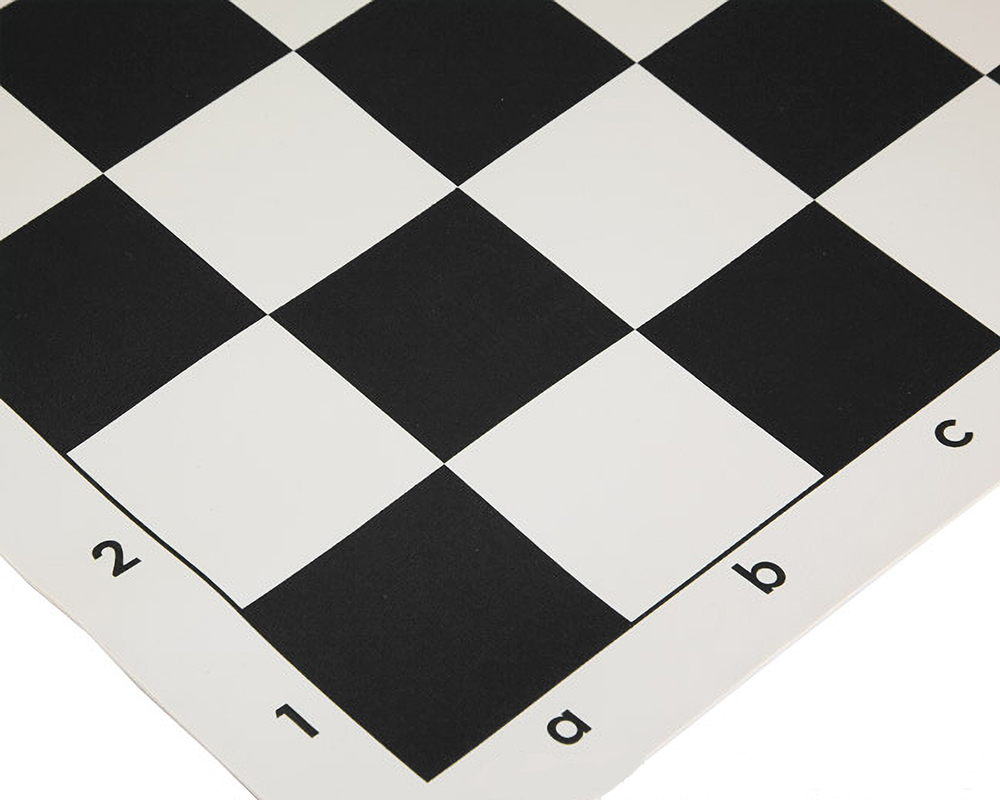 20 Inch Roll Up Vinyl Chess Board Black Rcs011 S 163 4 77