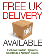 Free Shipping Available for UK Orders