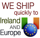 We Offer Quick and Competitive Shipping Prices to Ireland and EU