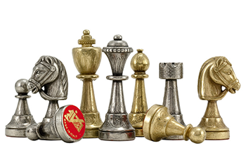 Fine Italian Metal Chess Sets