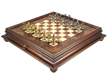 Ornate chessmen and board combinations the regency chess company england - Ornate chess sets ...