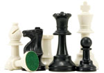 plastic tournament chess