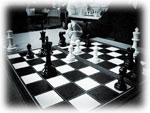 playing chess at school