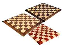 chessboards from solid wood