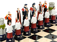 Diamond Jubilee Chess Pieces