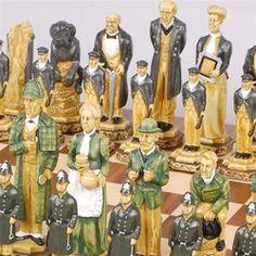 Sherlock Holmes Chess Set
