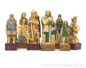Celts Vs Vikings Chess Set