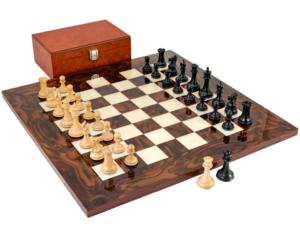 Sovereign luxury chess set - 5th wedding anniversary gifts for husband