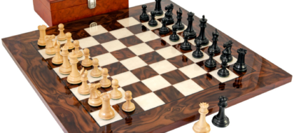 Sovereign luxury chess set
