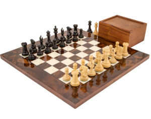 Highclear chess set - 5th wedding anniversary gifts for husband