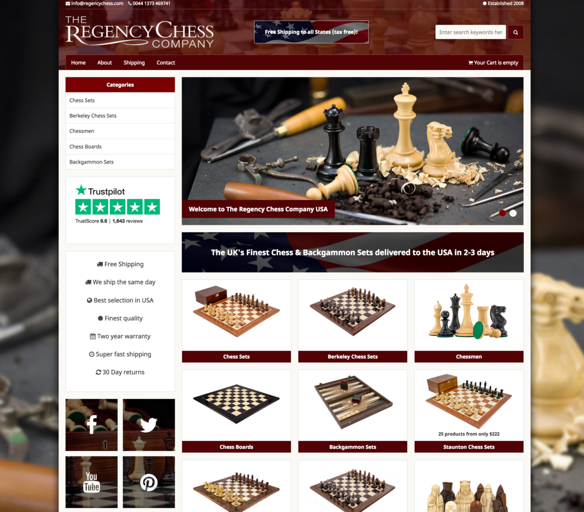 Regency Chess USA