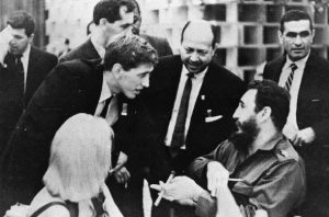 Bobby Fischer and Fidel Castro