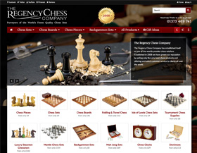 The Regency Chess Company Homepage