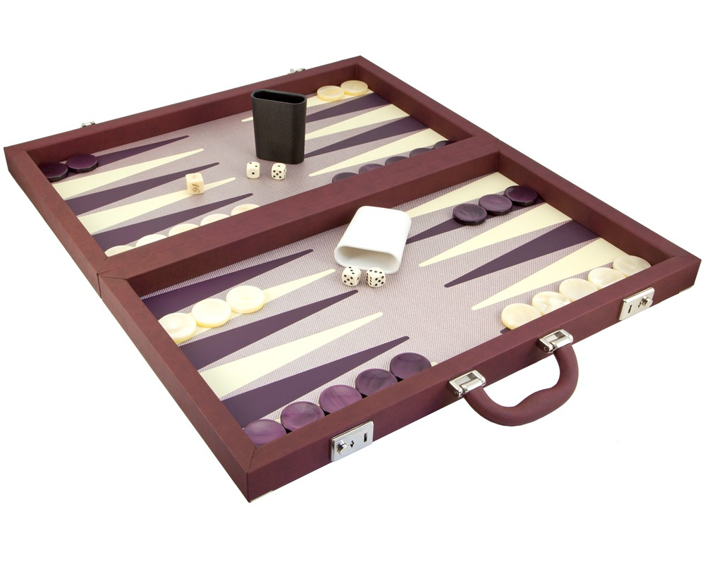 Dal Negro Topina & Composite Backgammon in Bordeaux