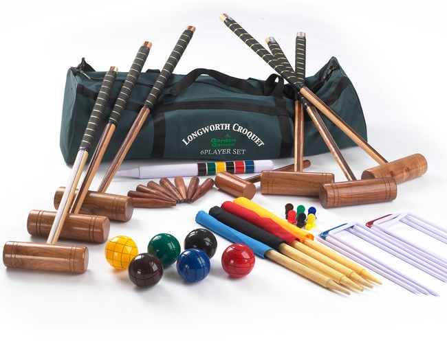 Longworth 6 Player Croquet Set with a Bag
