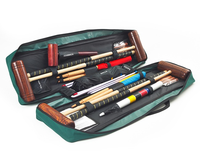 Townsend 4 player Croquet Set with Tool Kit Bag
