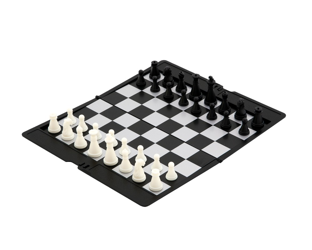 Magnetic Slimline Travel Chess Set
