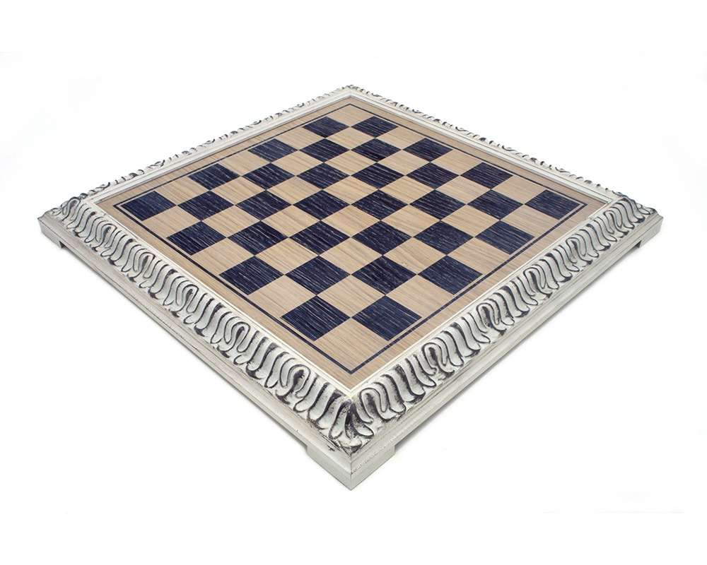 19 Inch Painted Italian Artisan Chess Board