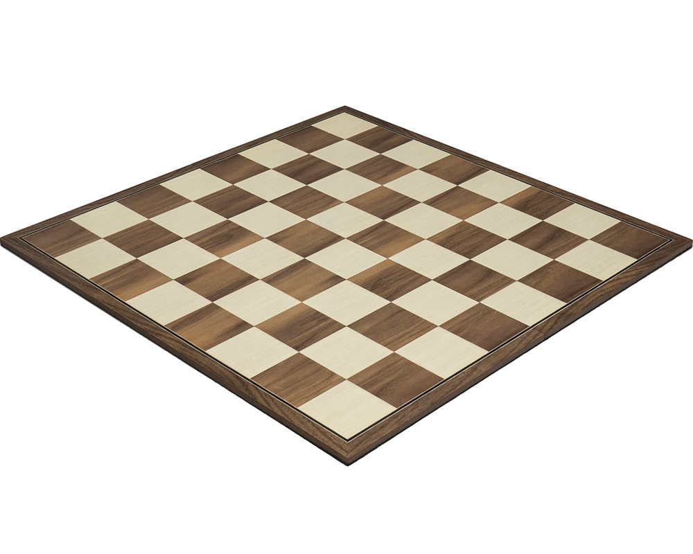 16.75 inch Folding Walnut Chess Board