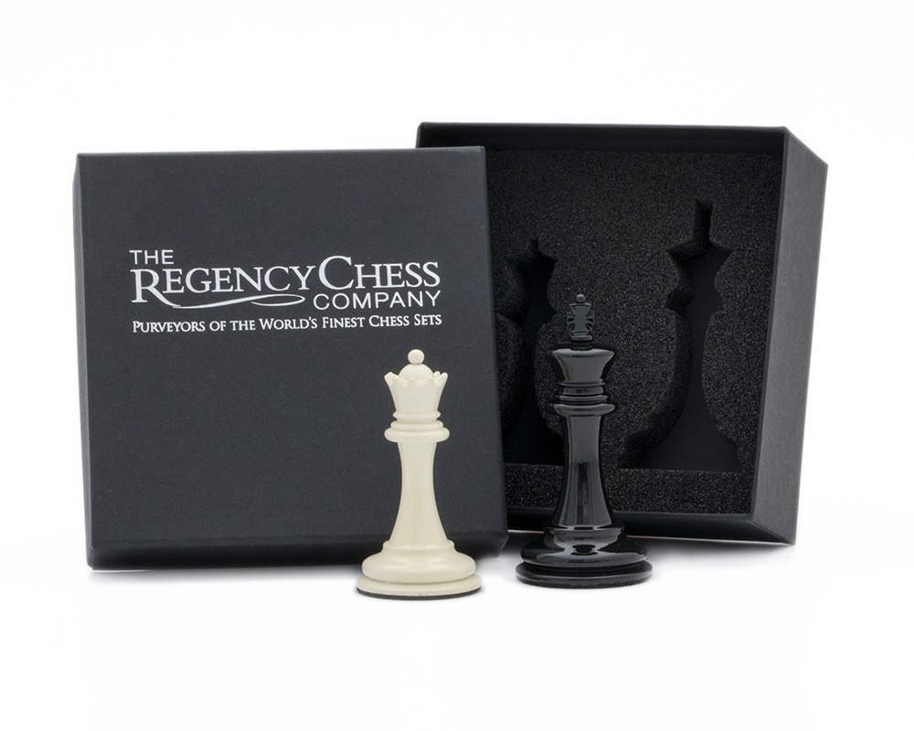 King and Queen Gift Set 3.5 inch Lacquered