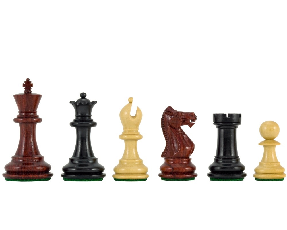 Sandringham Tres Corone Luxury Chess Pieces 2.5 Inches