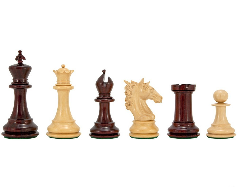 Strasbourg Series Luxury Rosewood Chess Pieces 4.75 Inches