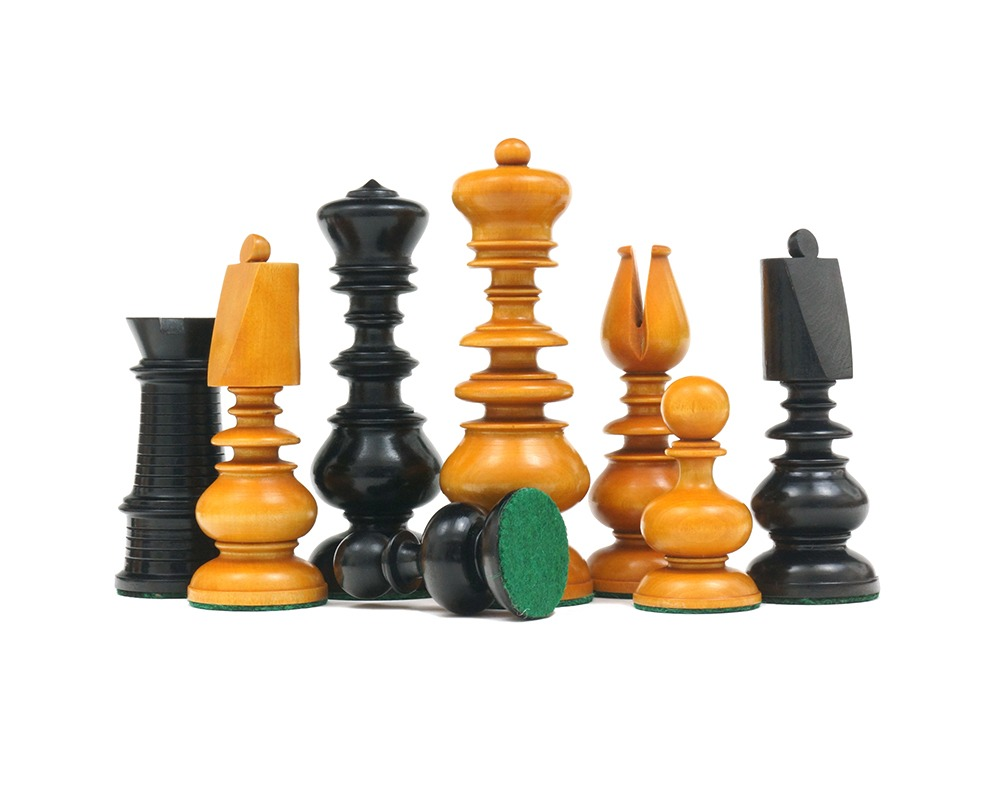 Calvert Series Antique Reproduction Chessmen