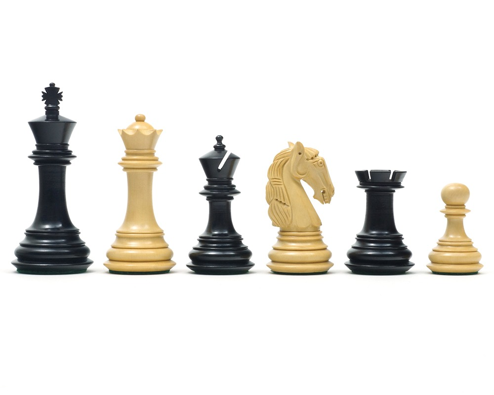 The Gambit Chessmen 3.75 inch