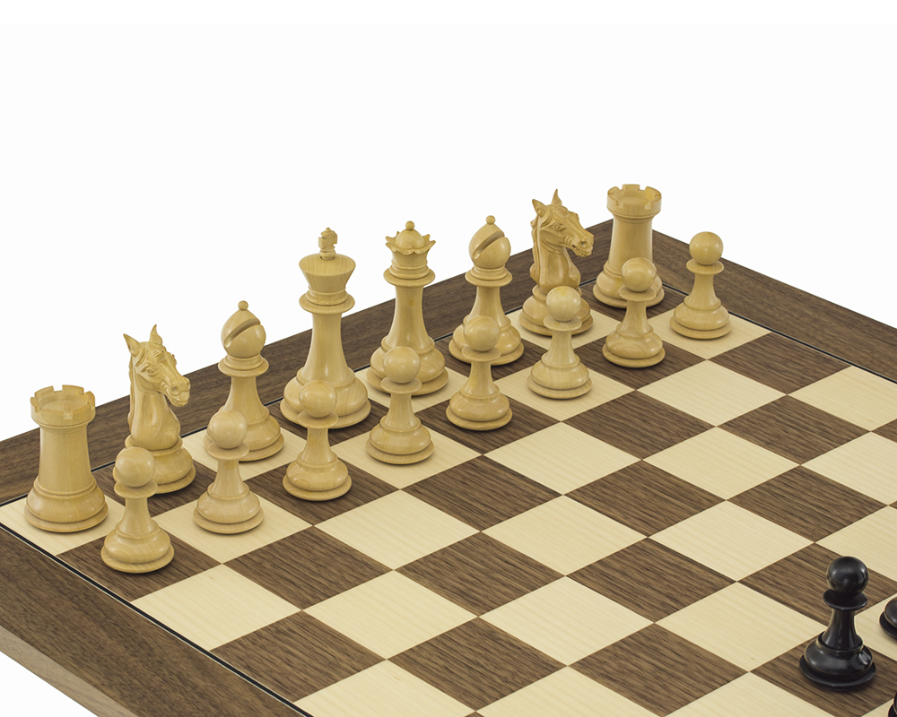 Columbus Series Chessmen Ebony 4""
