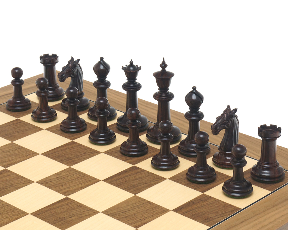The Bath Chessmen 3.75 inch Rosewood