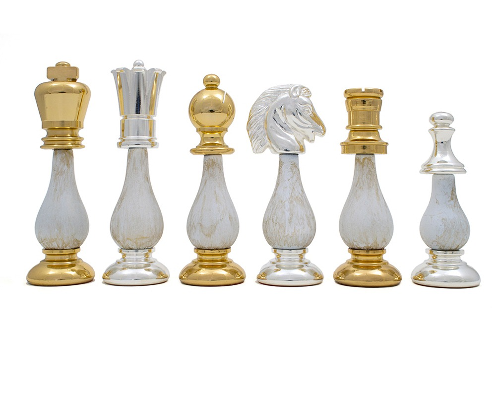 The San Severeo chess pieces 3.75 inch