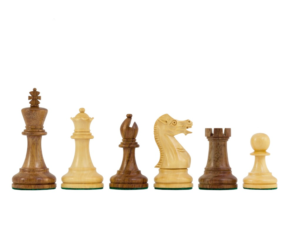 Executive Staunton Chessmen in Sheesham 3 Inches