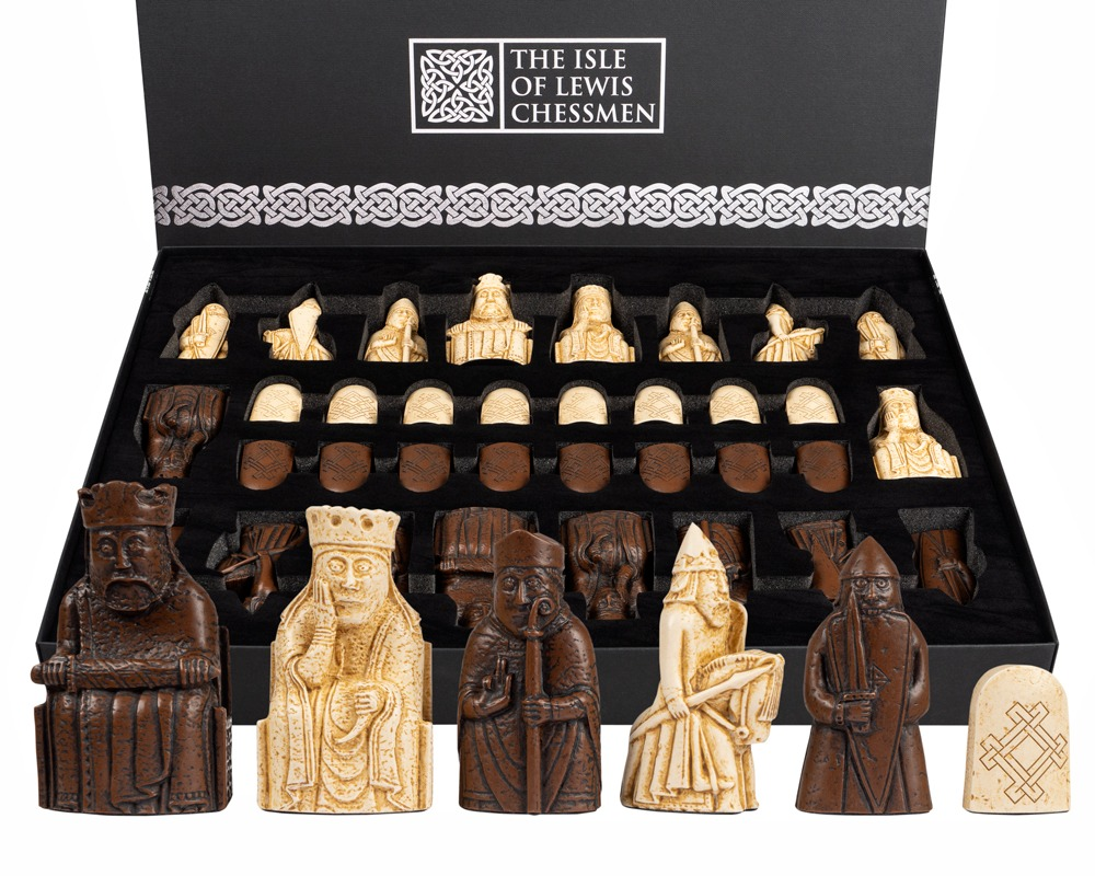 Regency Chess Official Lewis Chessmen Set