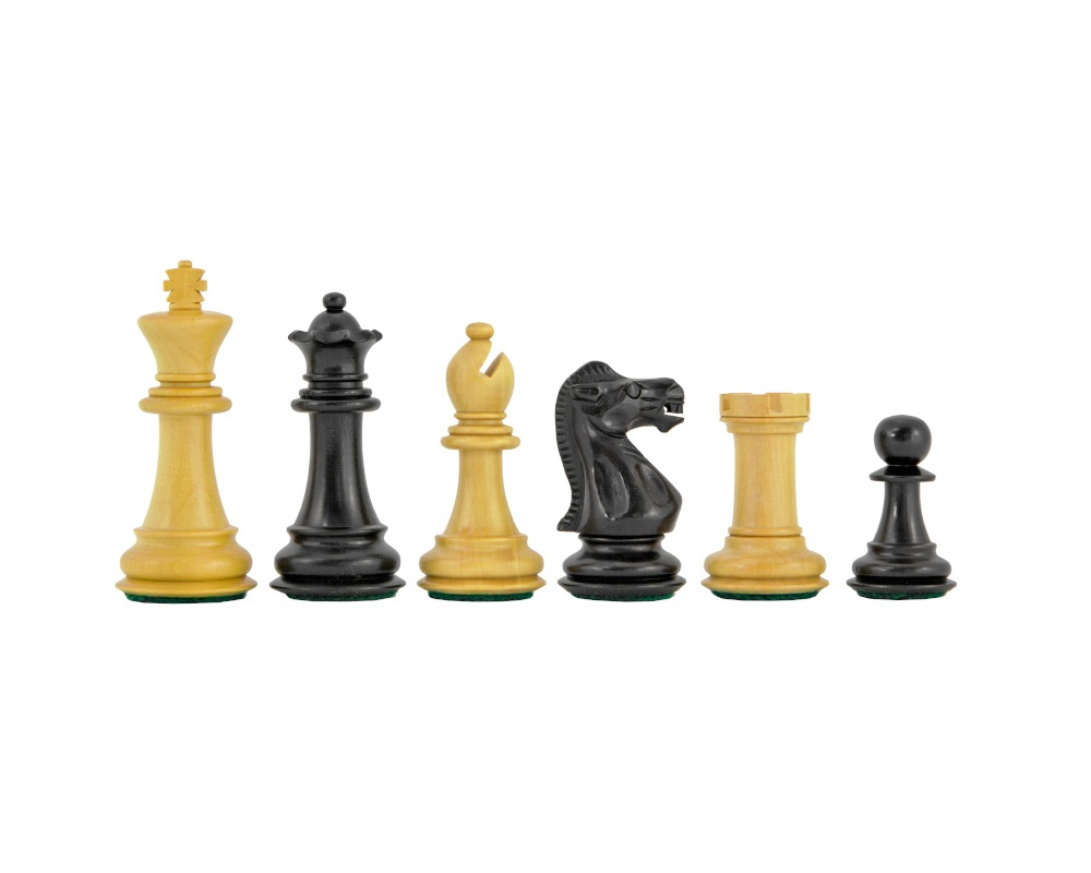 Old English Staunton Chessmen 3 inches